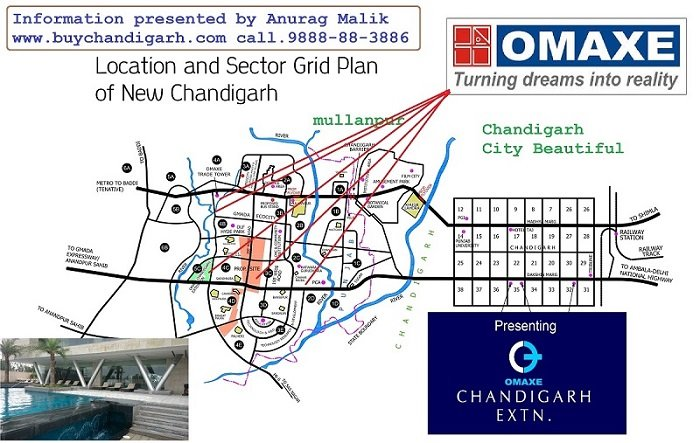 omaxe new chandigarh mullanpur location map