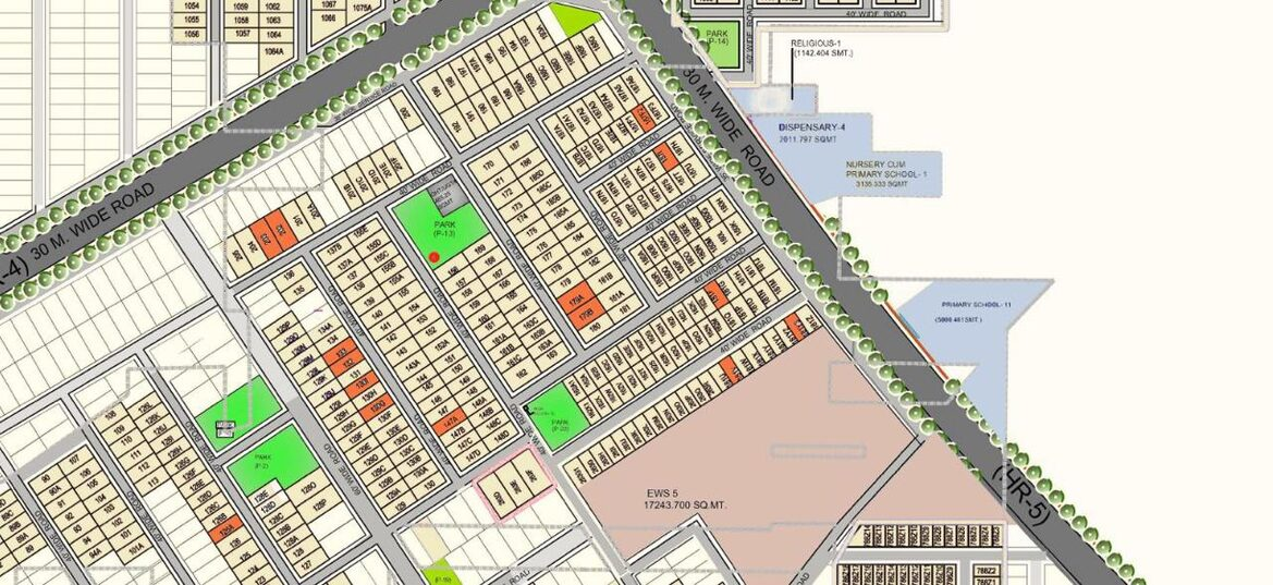 LAYOUT PLAN OF OMAXE 200 300 SQUARE YARD PLOTS AT OMAXE PHASE 3 WITH NEW PLOTS LAUNCHED